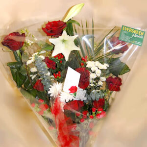 Three Red Rose Mixed