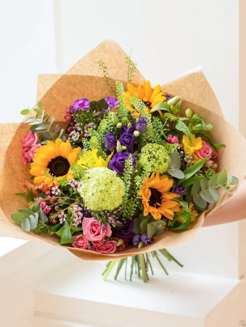The Sunshine Hand-tied Bouquet